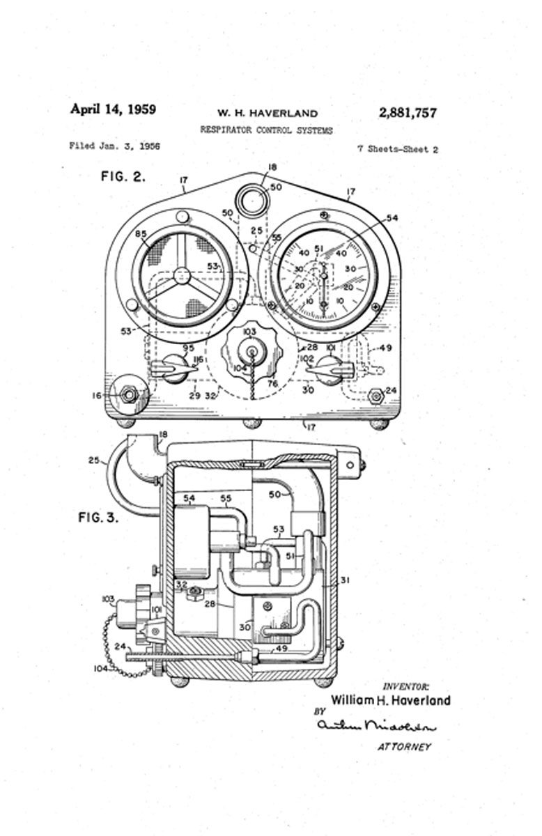 Intermittent Positive Pressure Breathing 1960 Lincoln Wiring Diagram 1956 Respirator Control Systems