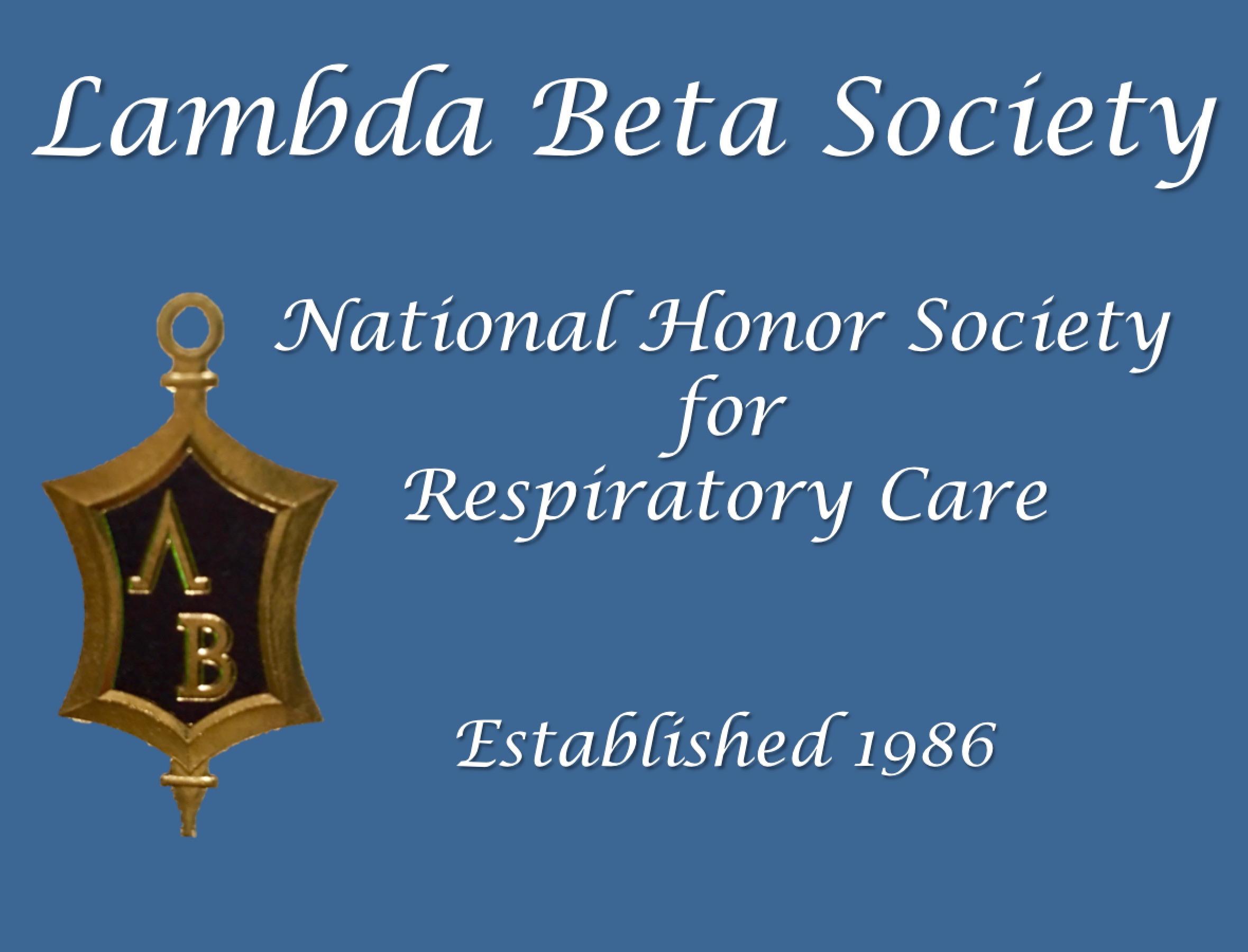 Lambda Beta Society formed