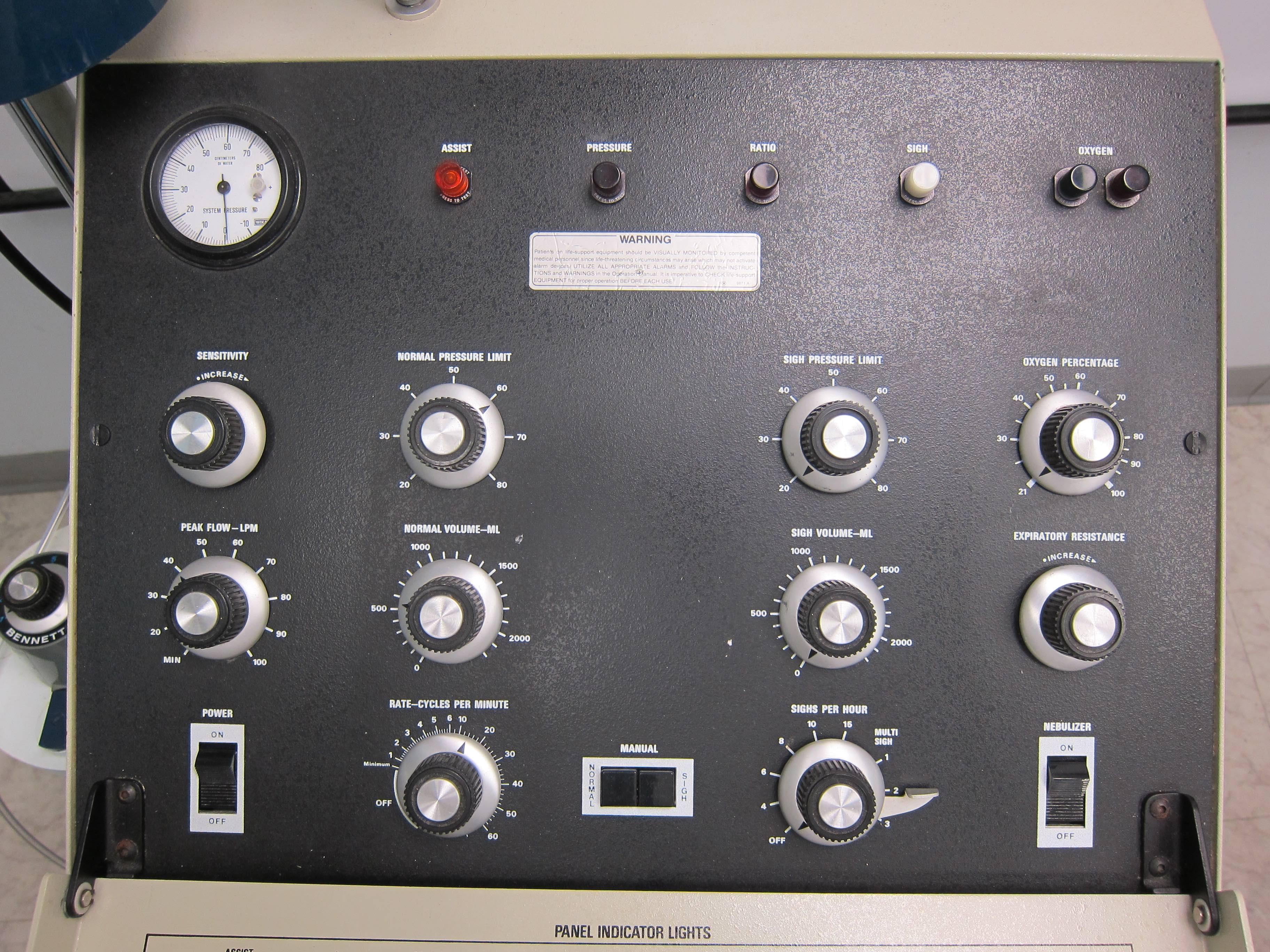 MA-1 Control Panel