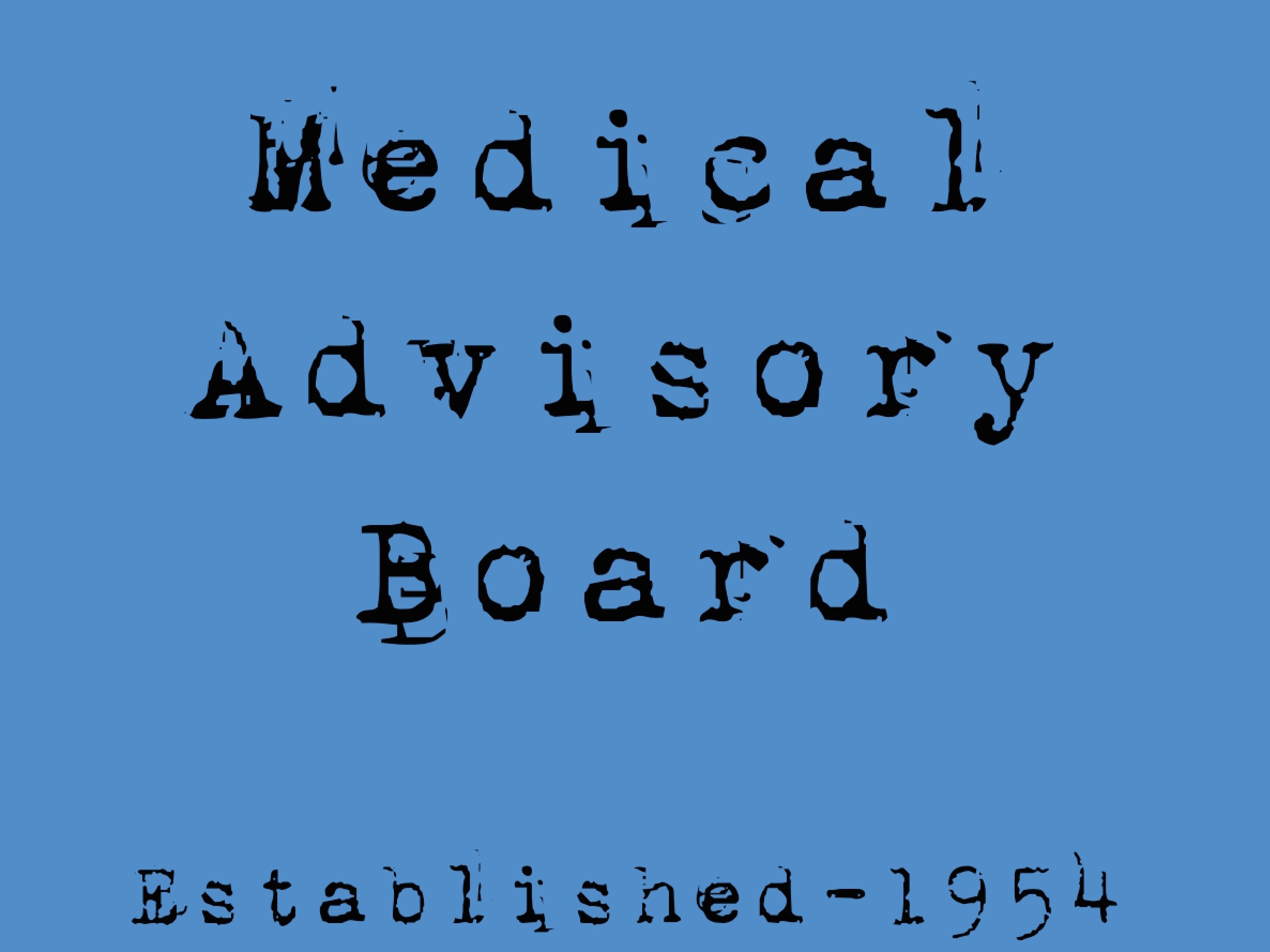 1954 Medical Advisory Board