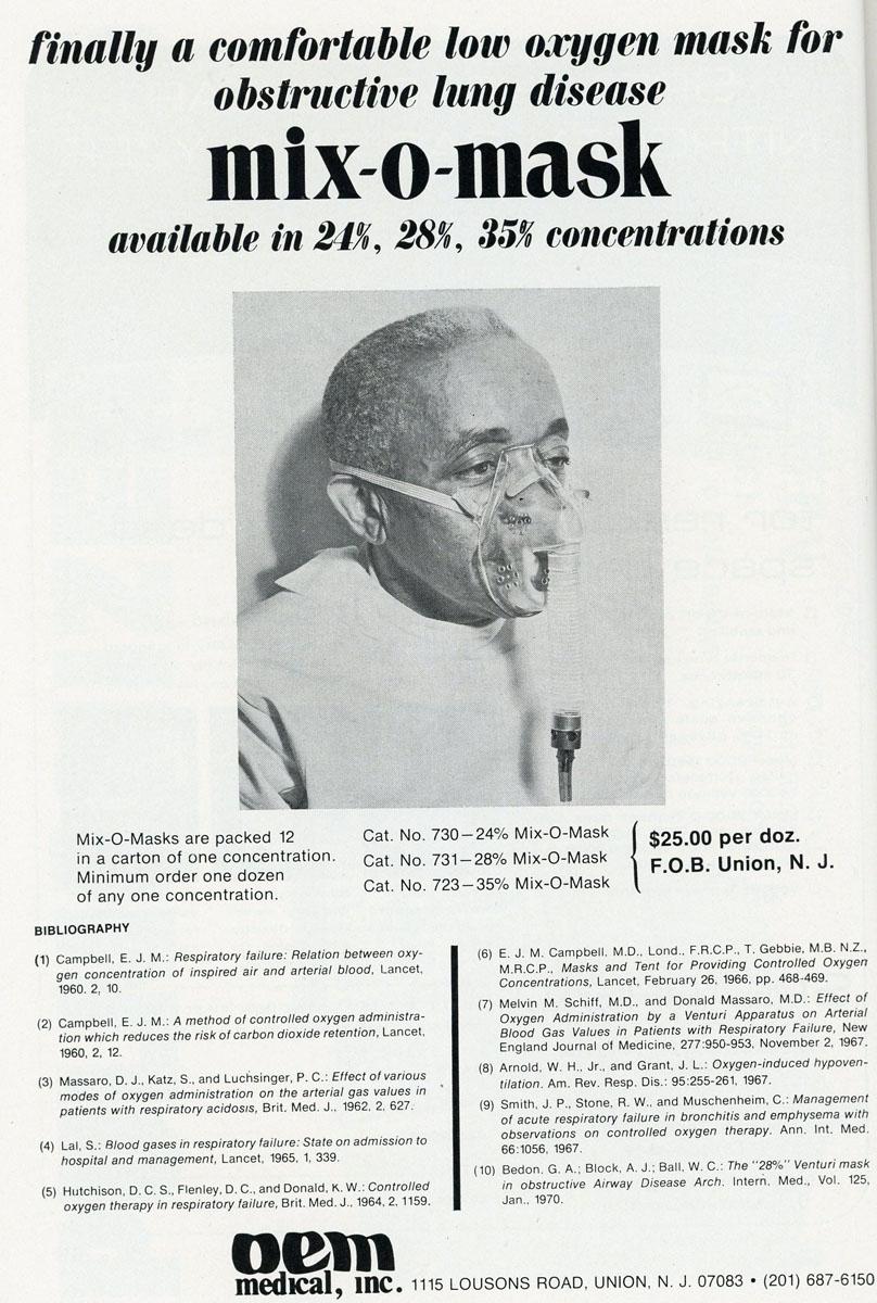 1960s Mix-O-Mask