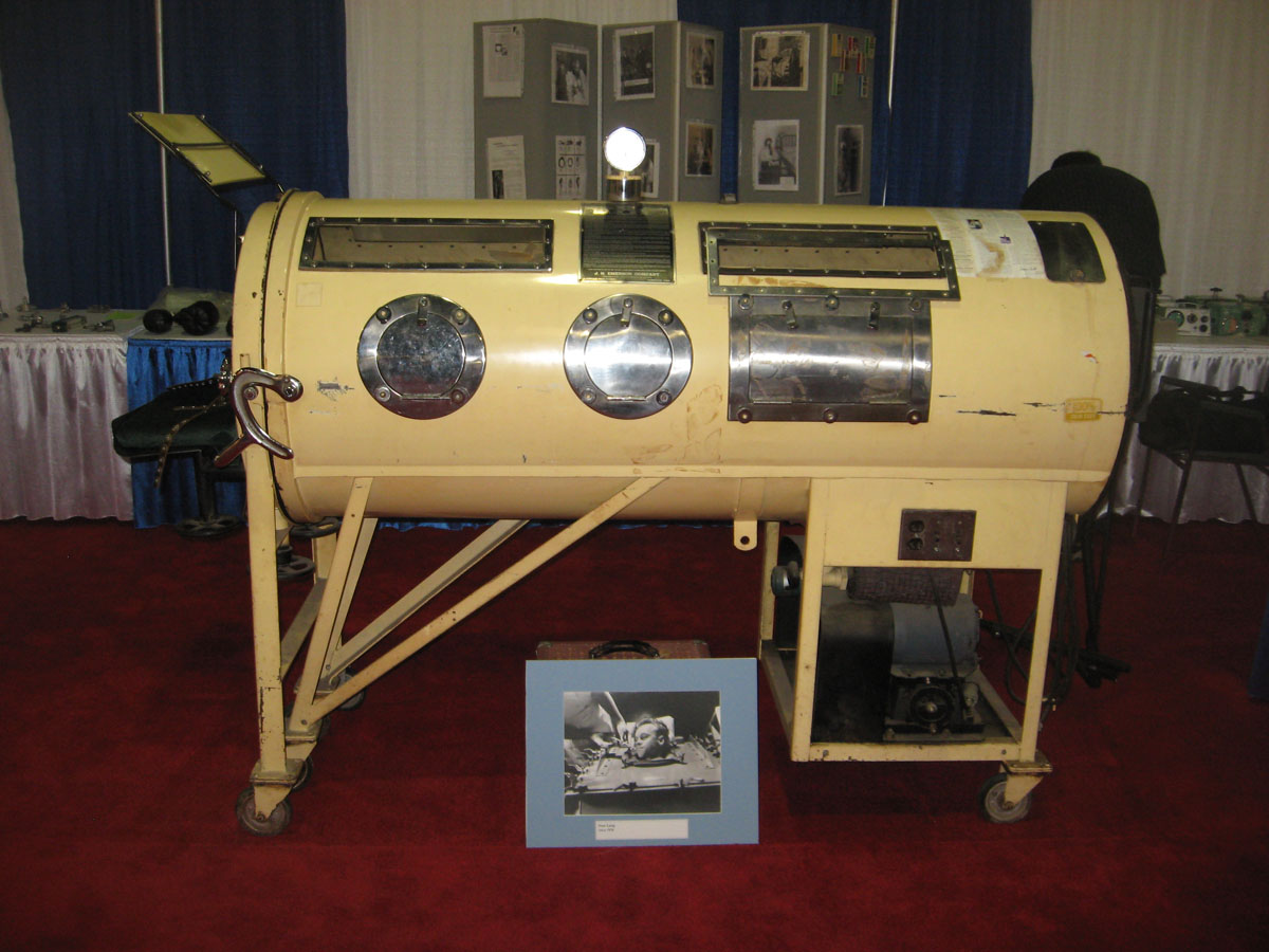 1940s Emerson Iron Lung