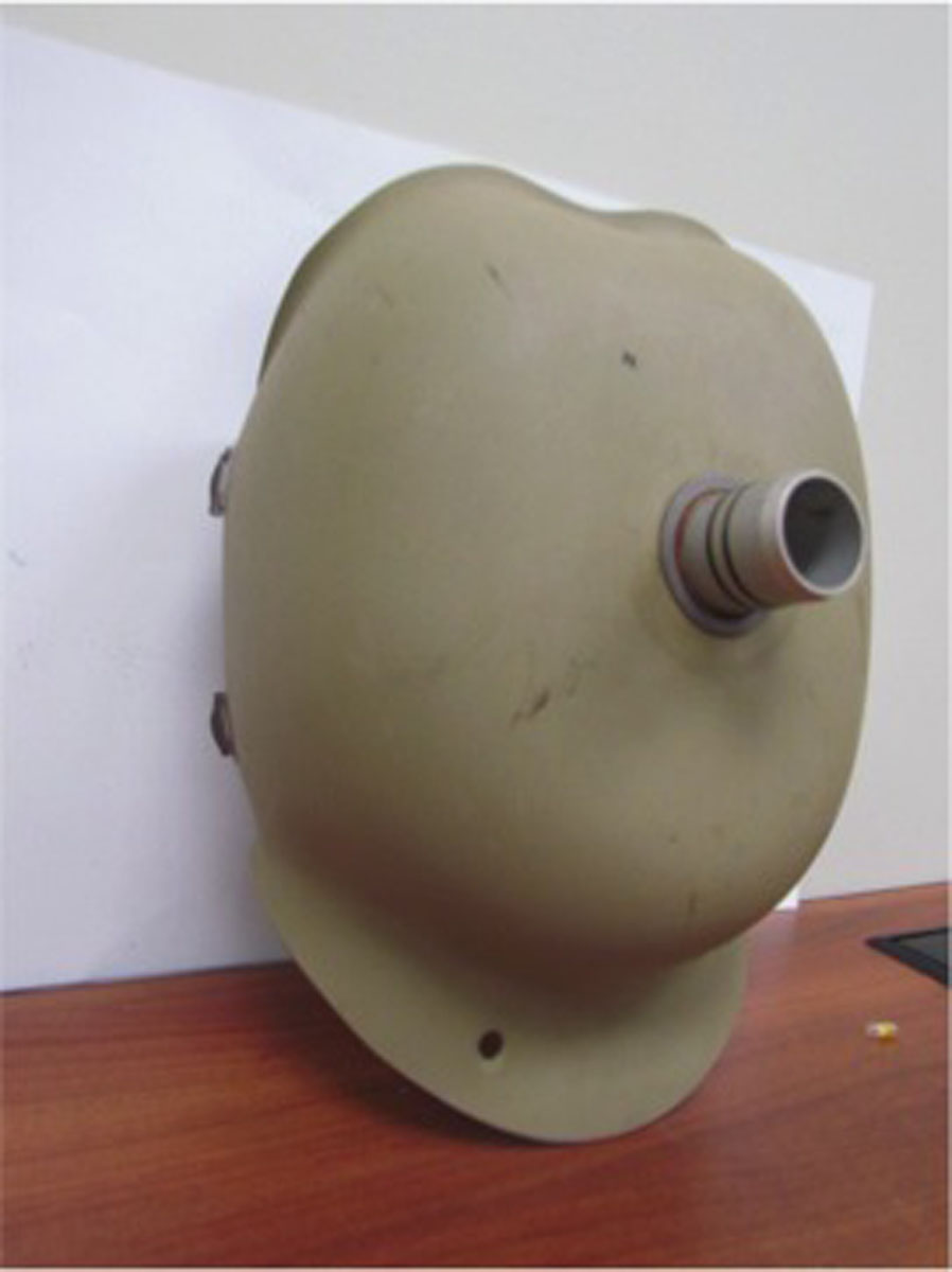 1940s Cuirass Shell