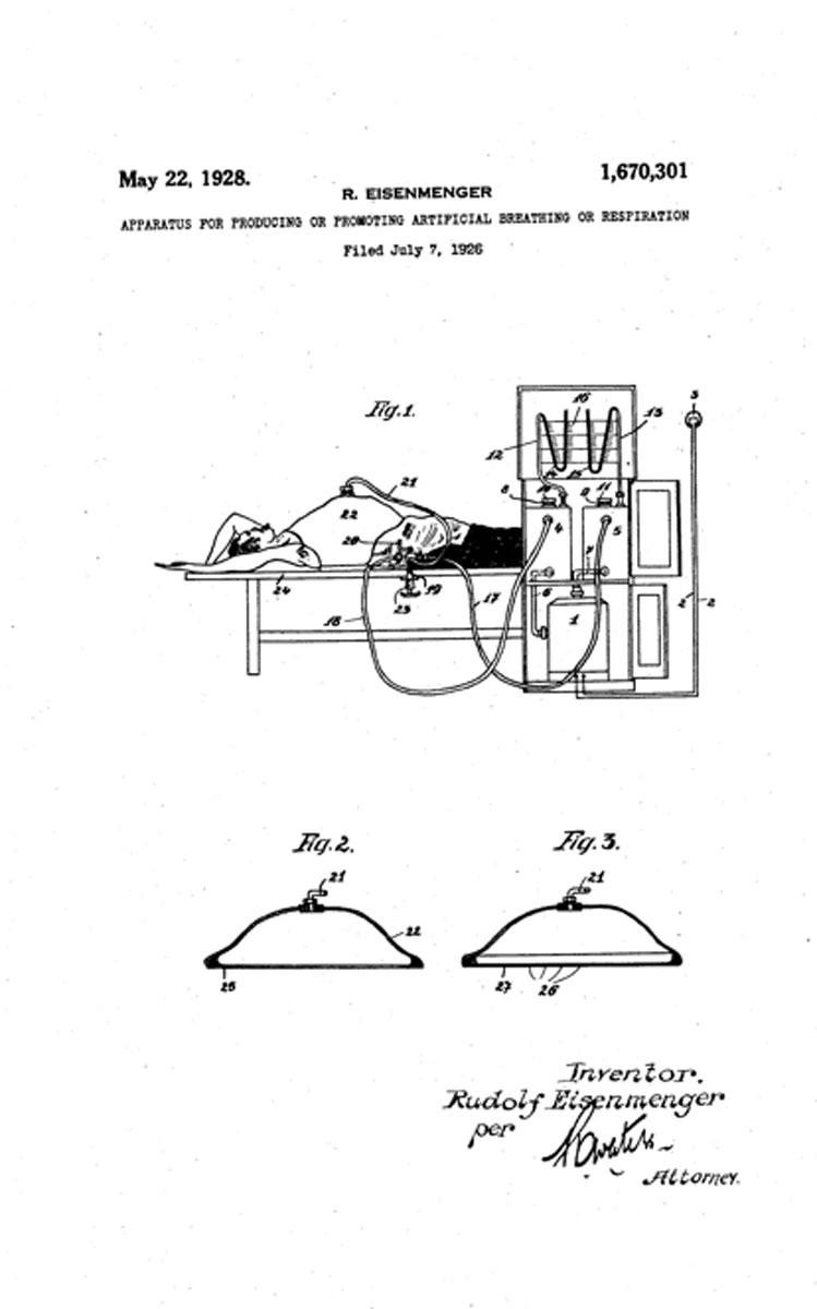 1928 Eisenmenger's Patent