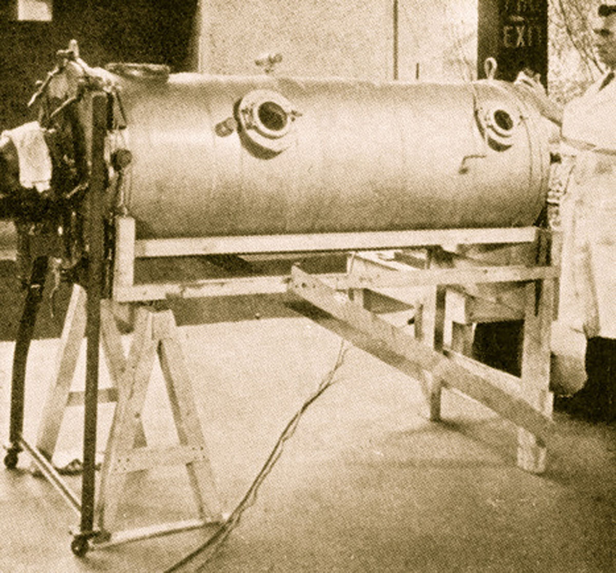 1929 Drinker & Shaw's Respirator