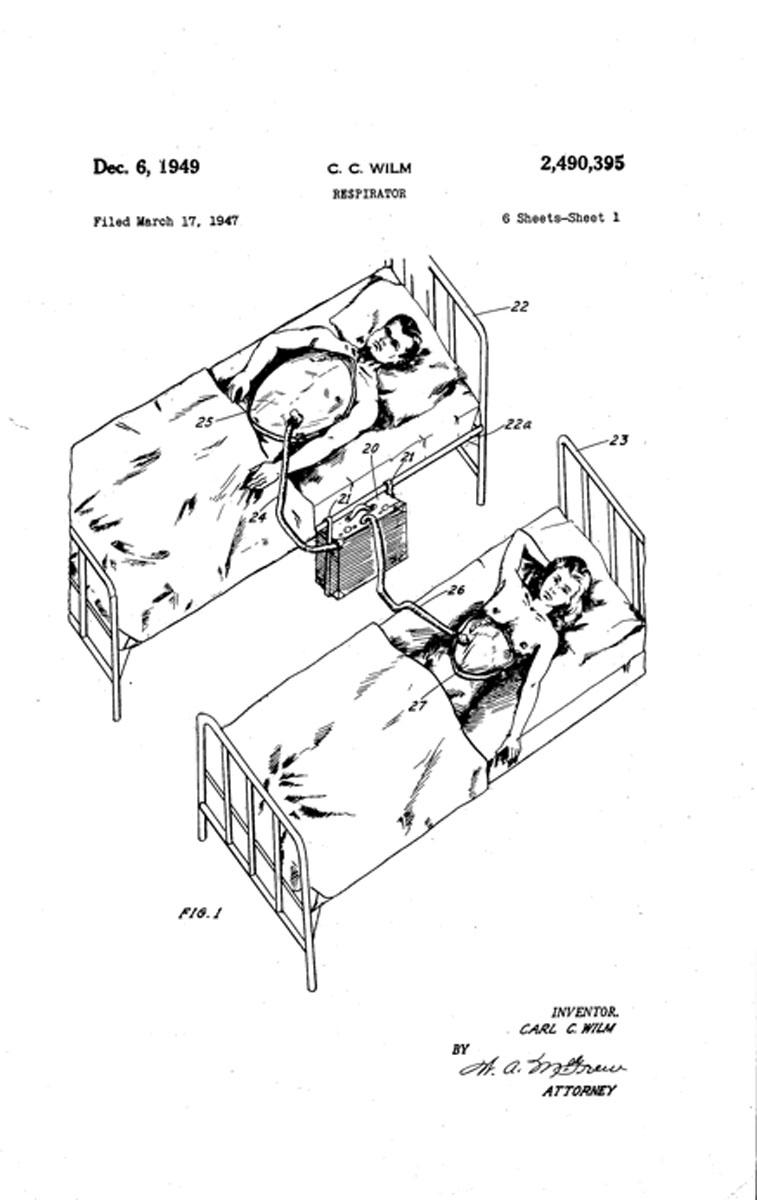 1947 Dual Cuirass Respirator