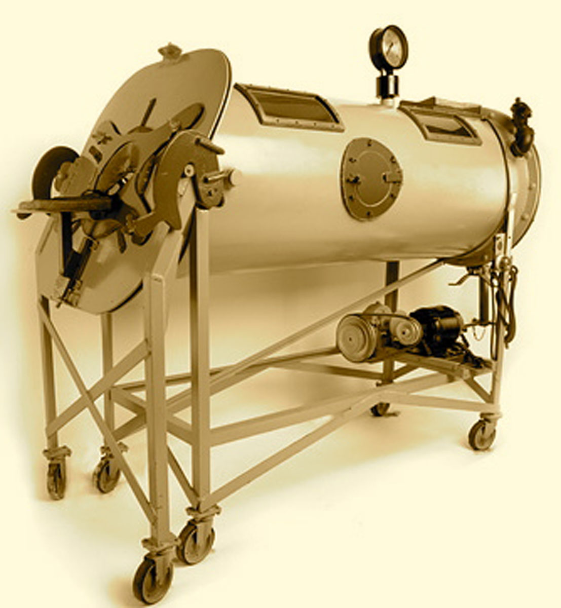 1931 Emerson's Early Iron Lung