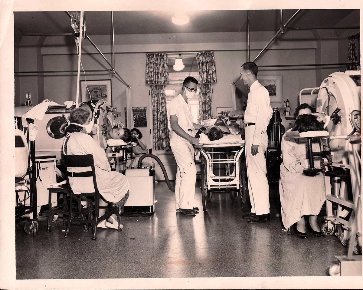 1940s Polio Ward