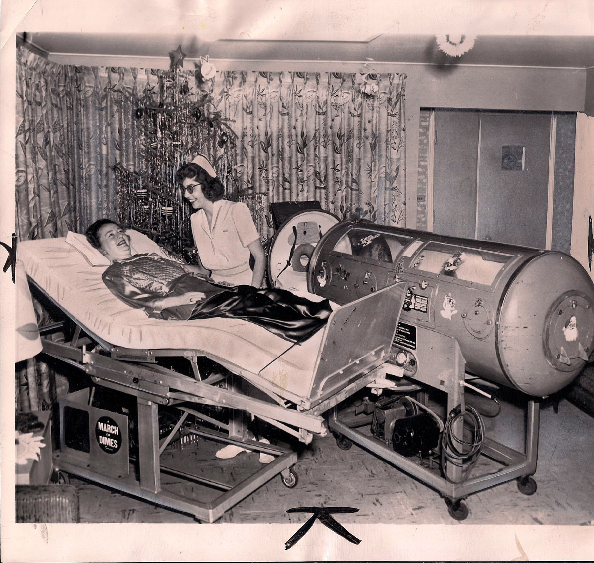 1960 Rocking Bed and Iron Lung