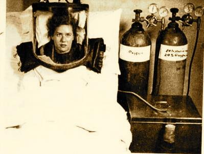 1940s 80% Helium and 20% Oxygen via Oxygen Hood