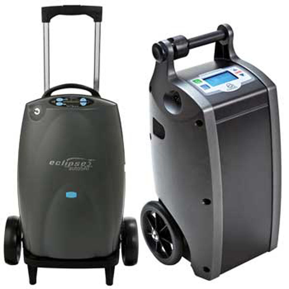 2000s Some Portable Concentrators were equivalent in size to carry-on luggage.