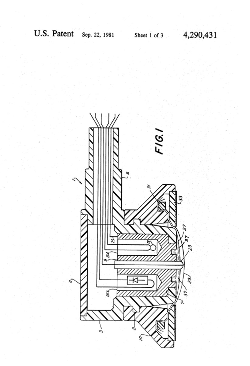 1981 Patent for Transcutaneous Electrode