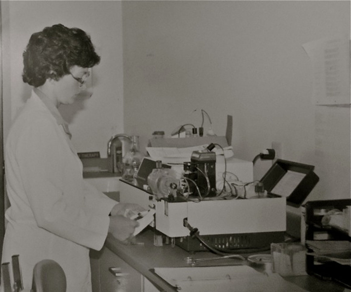 Early 1970s Blood Gas Analyzer