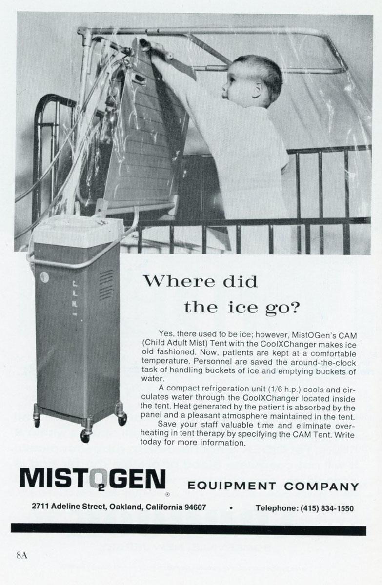 1960s Mistogen CAM Tent