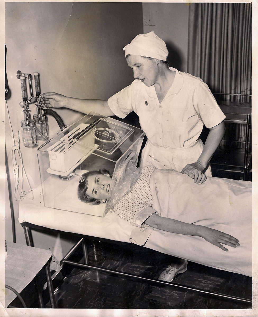 1940s Oxygen Hood