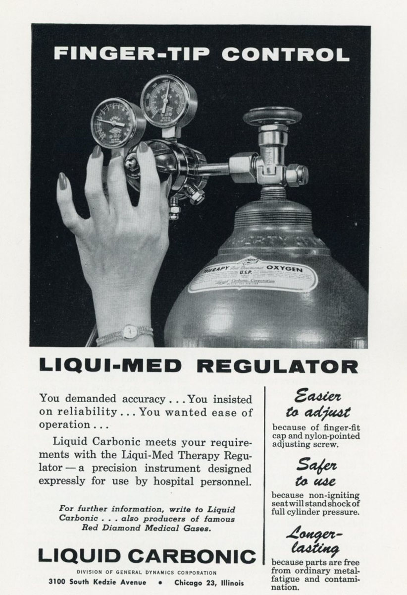 1960s Liqui-Med Regulator