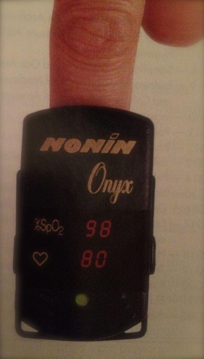 1995 Nonin Onyx Finger Pulse Oximeter
