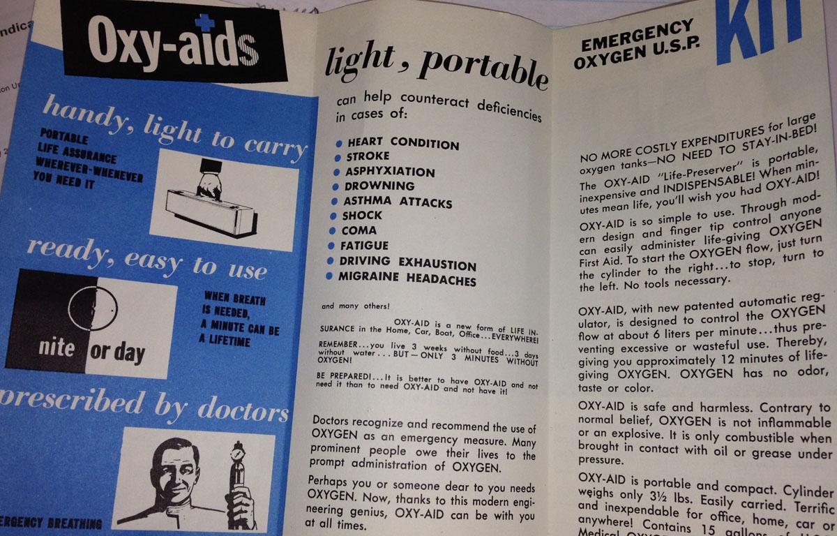 1960 OxyAid Brochure