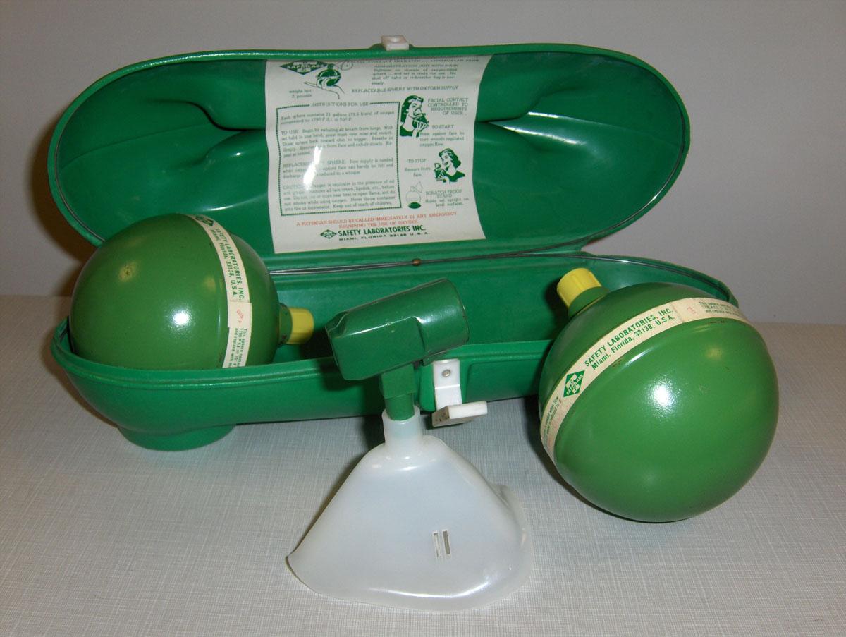 1960s Portable Oxygen Spheres