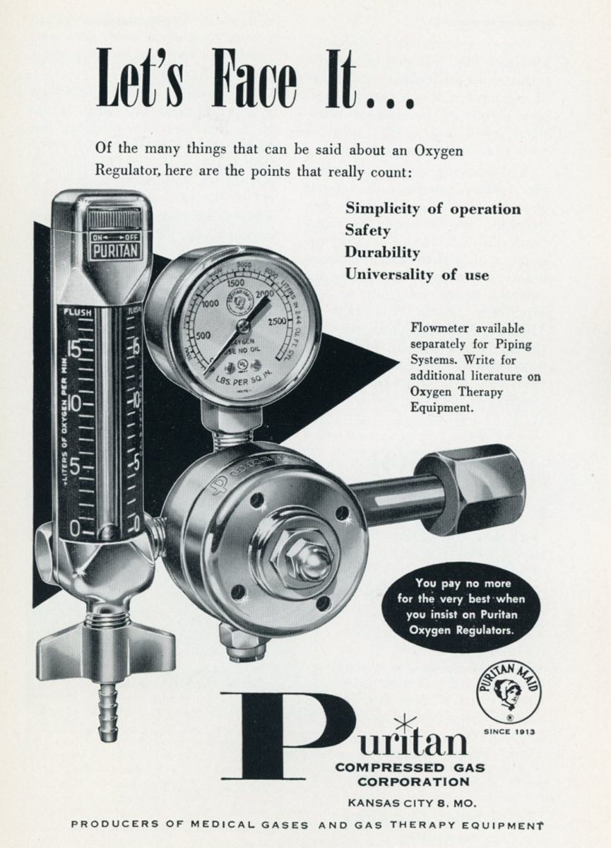 1960s Puritan Regulator