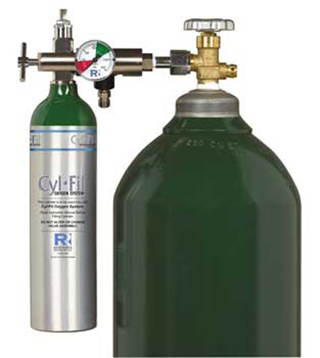 2000s Trans-fillable Oxygen Cylinder