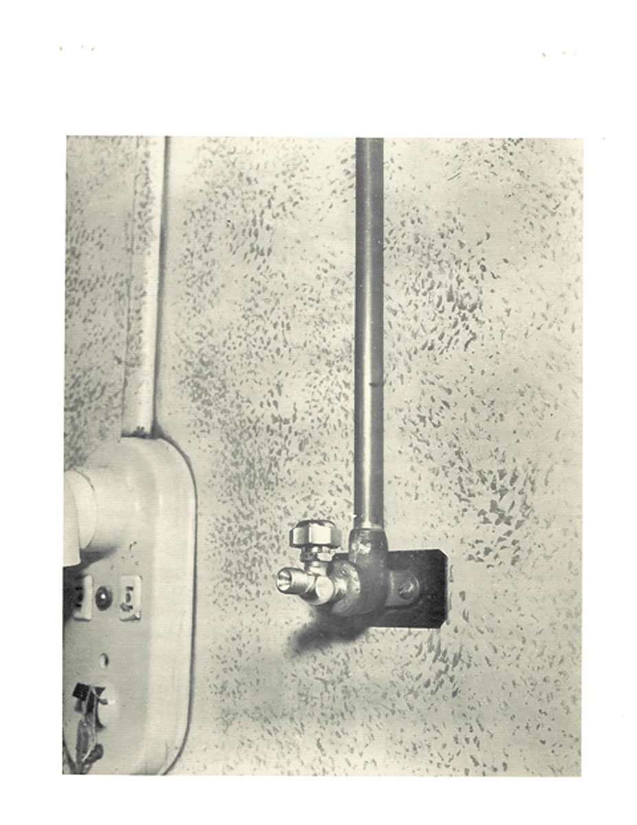 1951 Piped-In Oxygen Wall Outlet