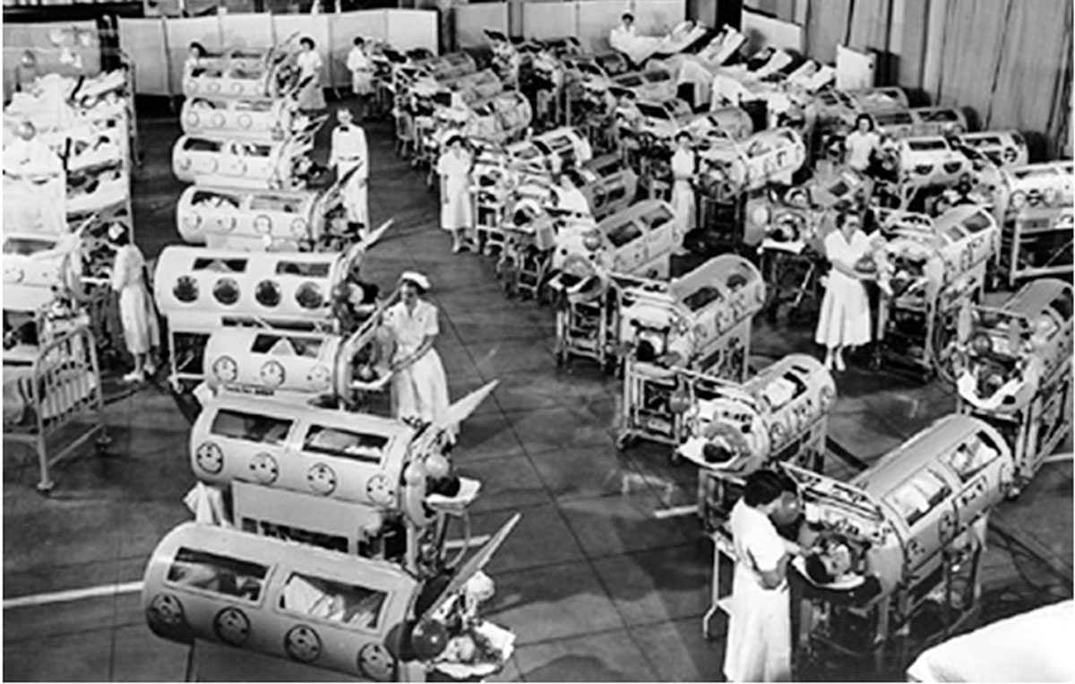 1953 Poliomyelitis Epidemic Patients