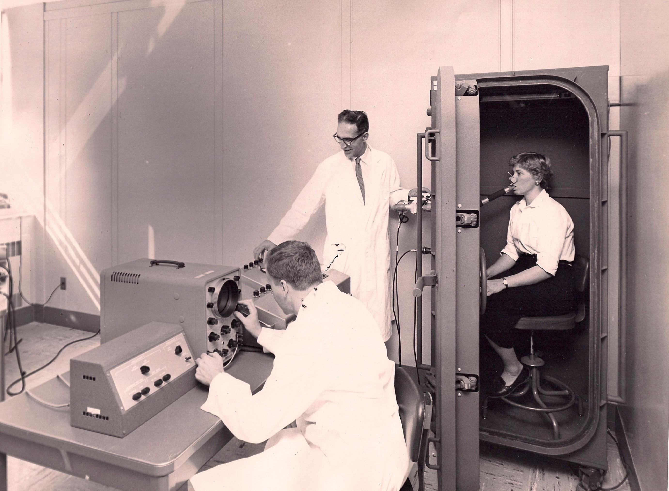 1970s Pulmonary Lab