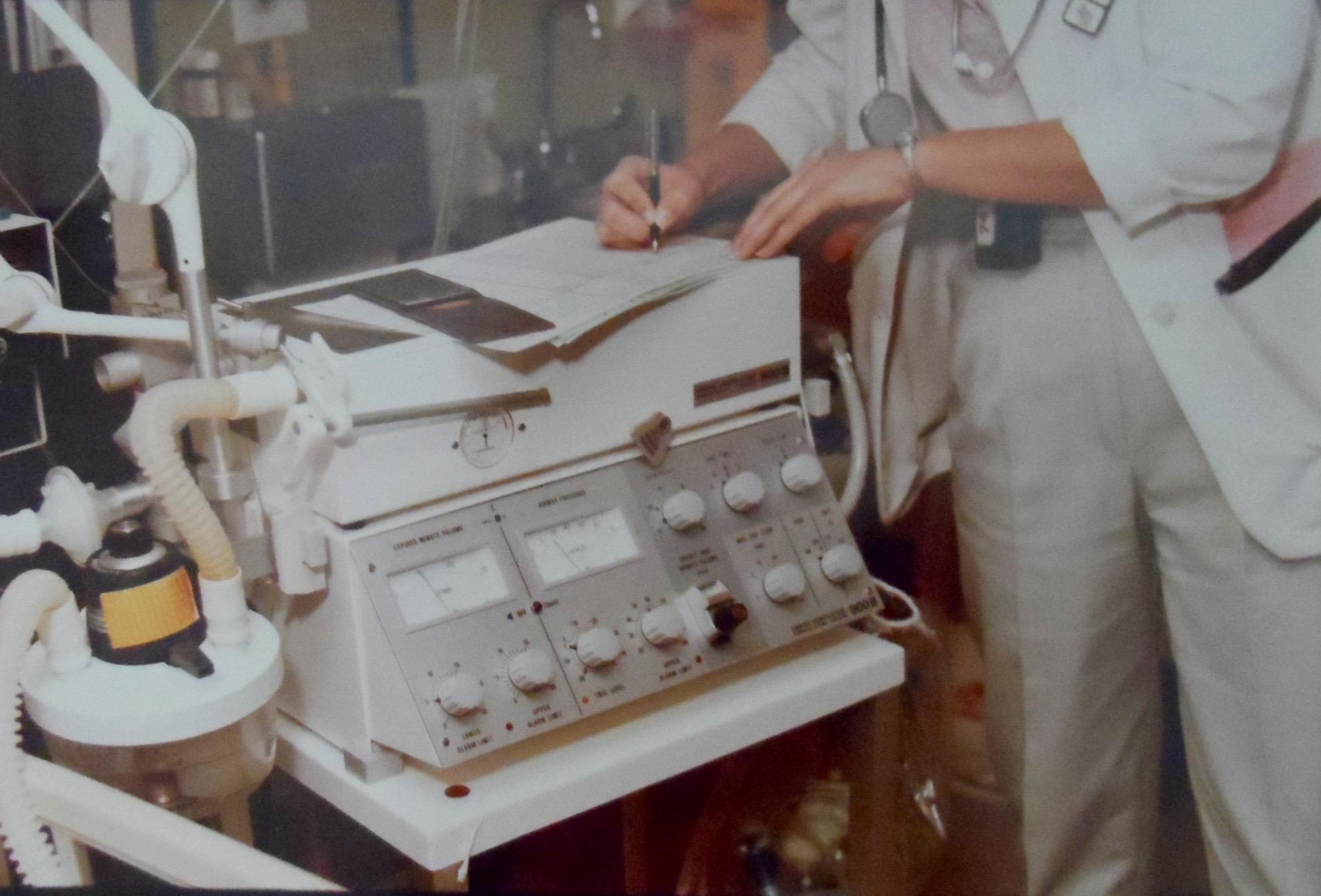 Siemens-Elema 900 B in ICU