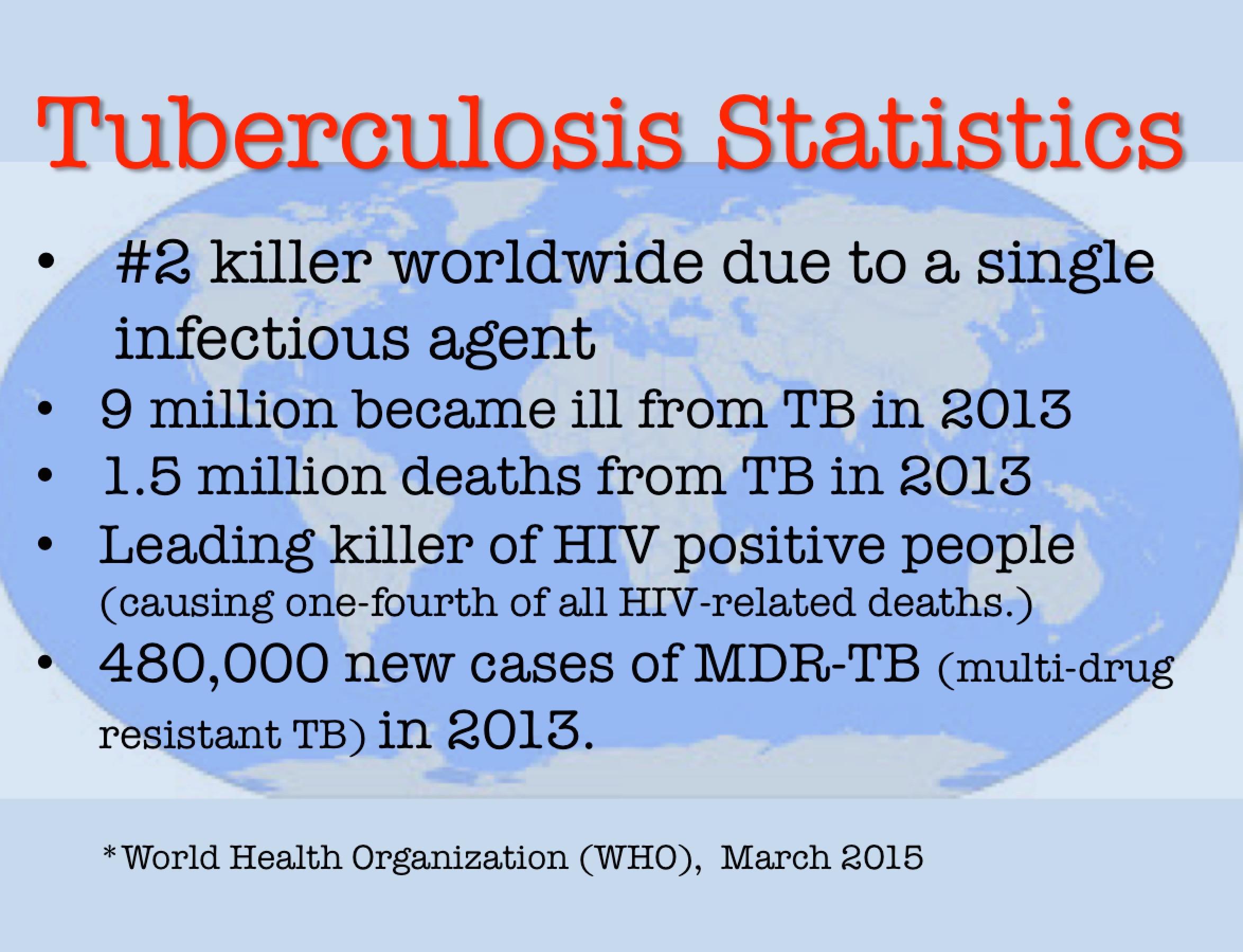 Worldwide TB Statistics