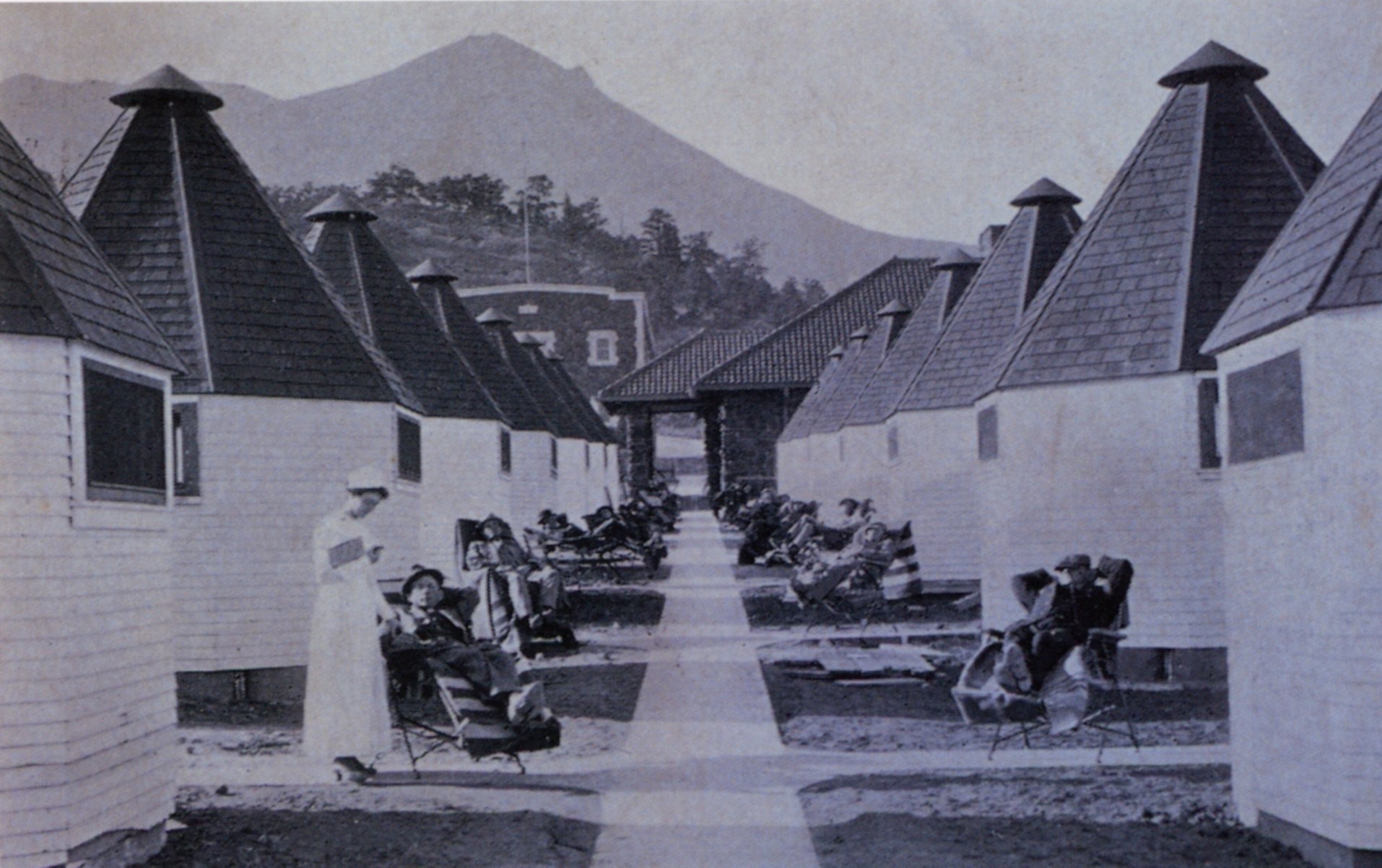 1922 Trudeau's Cottage Sanitarium