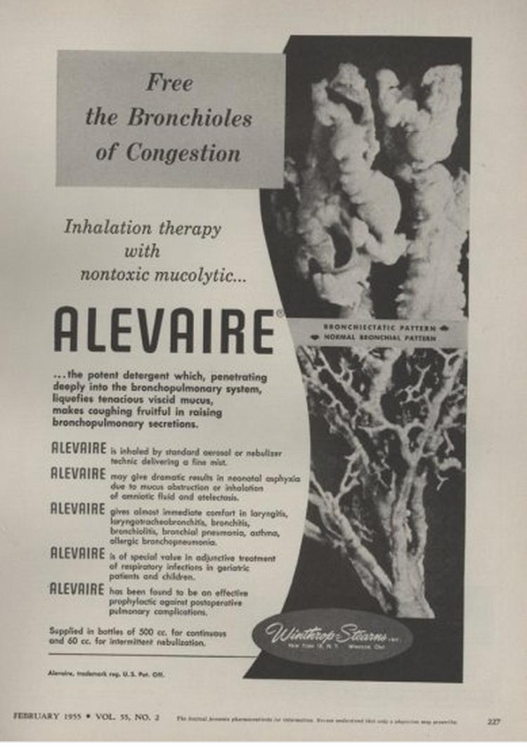 1955 Alevaire ad