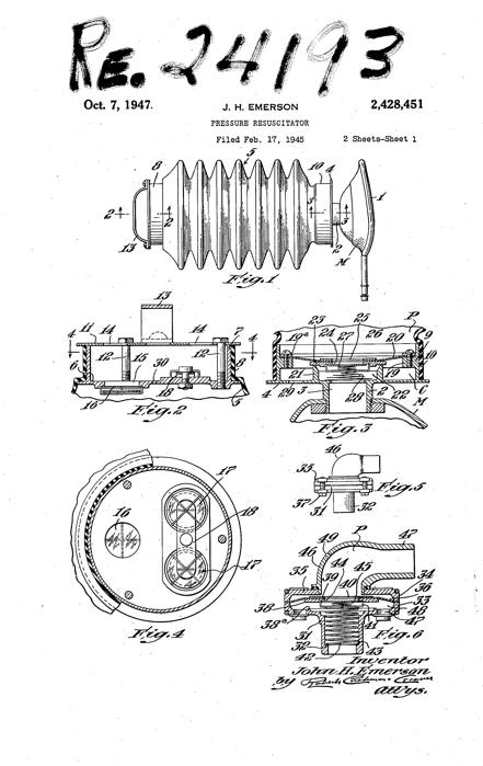 1947 Emerson Resuscitator