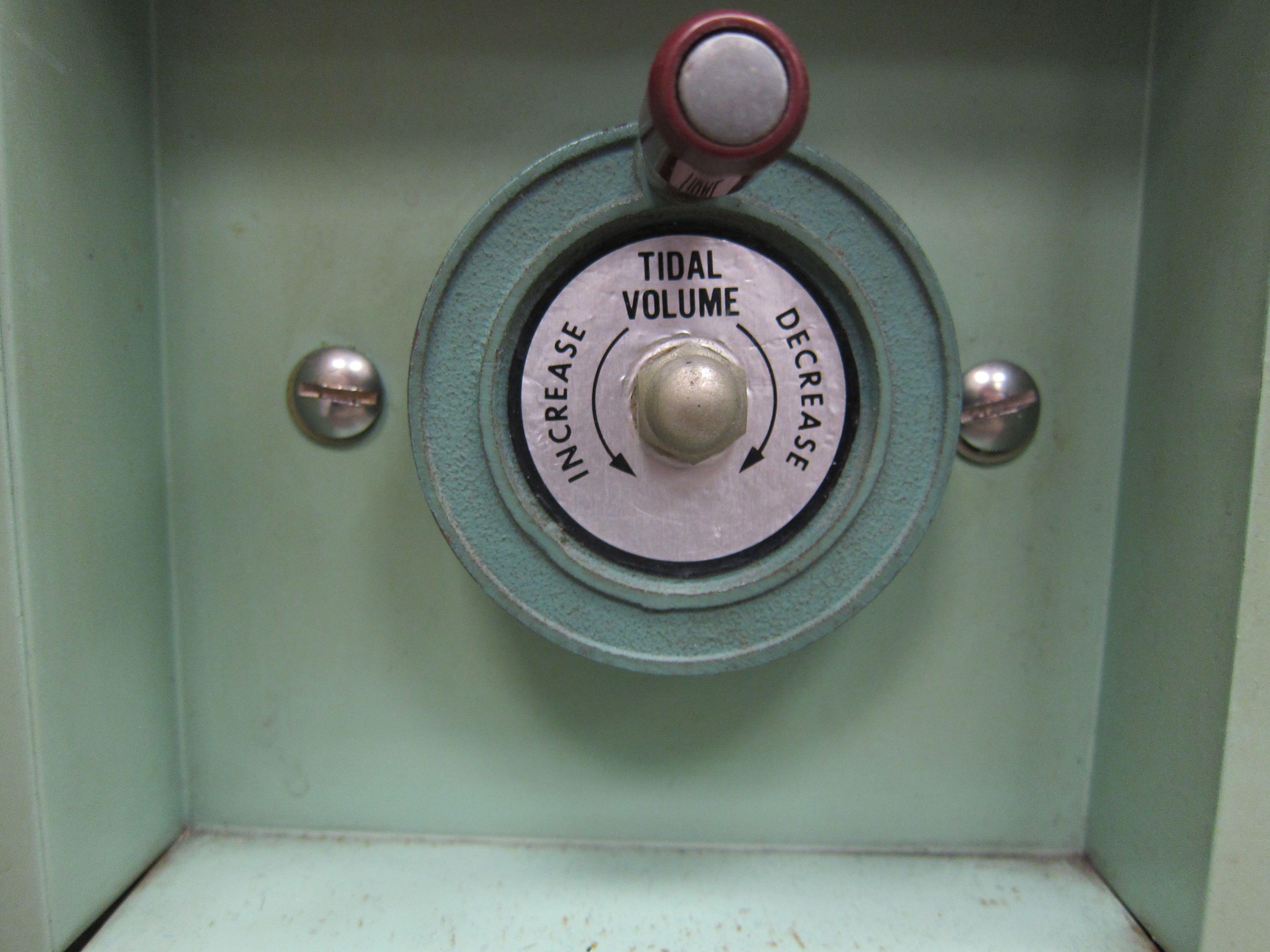 Emerson Tidal Volume Control