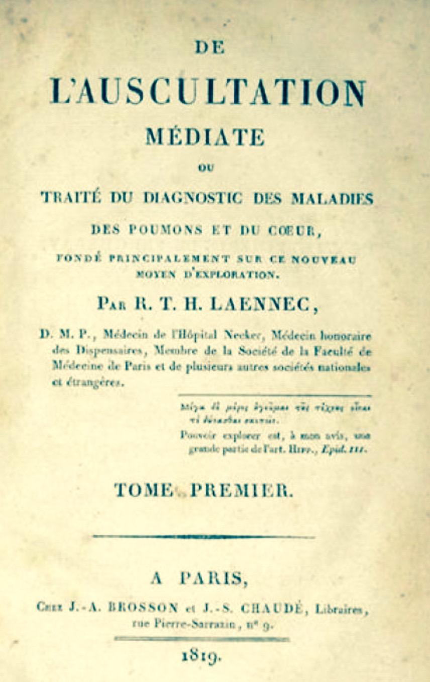 Laennec's 1819 Text