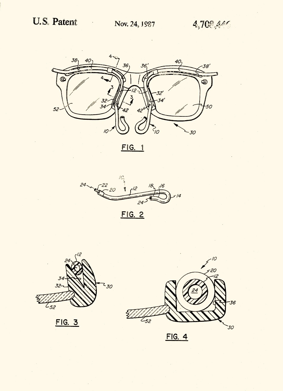 Cannula-Glasses Patent