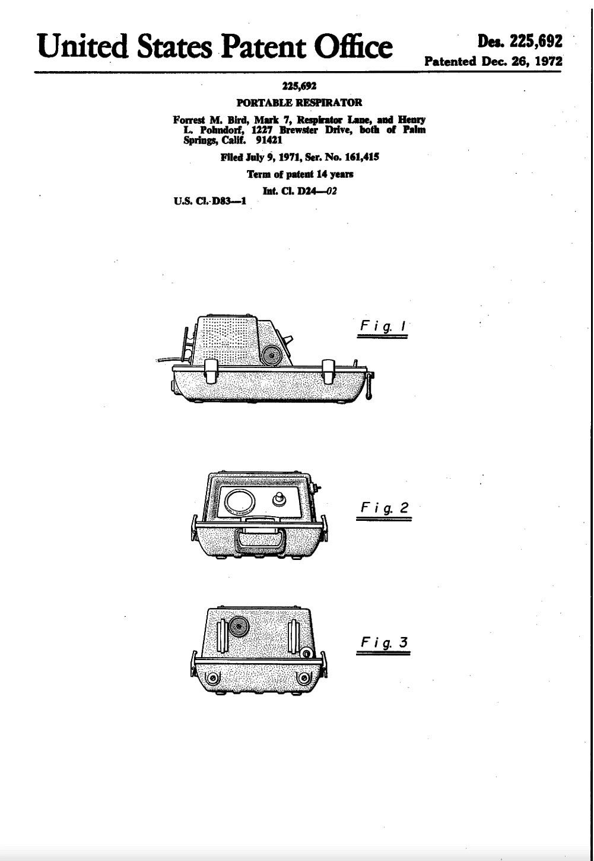 1972 PortaBird Patent