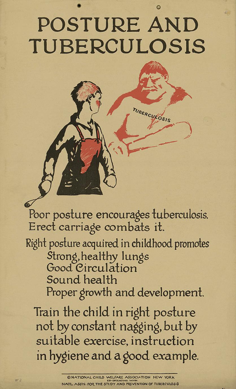 1920s Anti-TB Poster