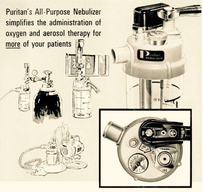 1966 -Puritan's All Purpose Nebulizer