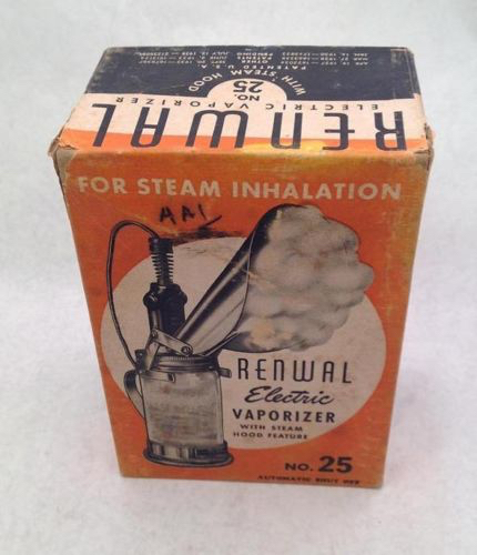 1938 Renwal Steam Vaporizer