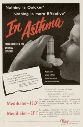 1957 Rikers MDI ad