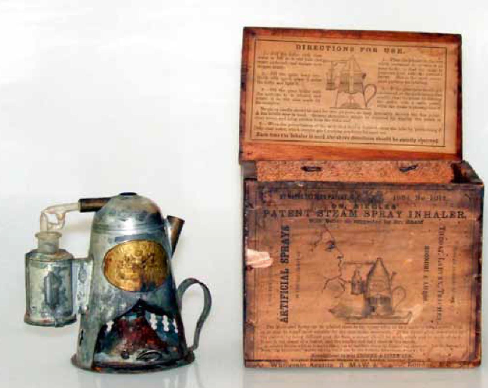 1864 Siegle Inhaler