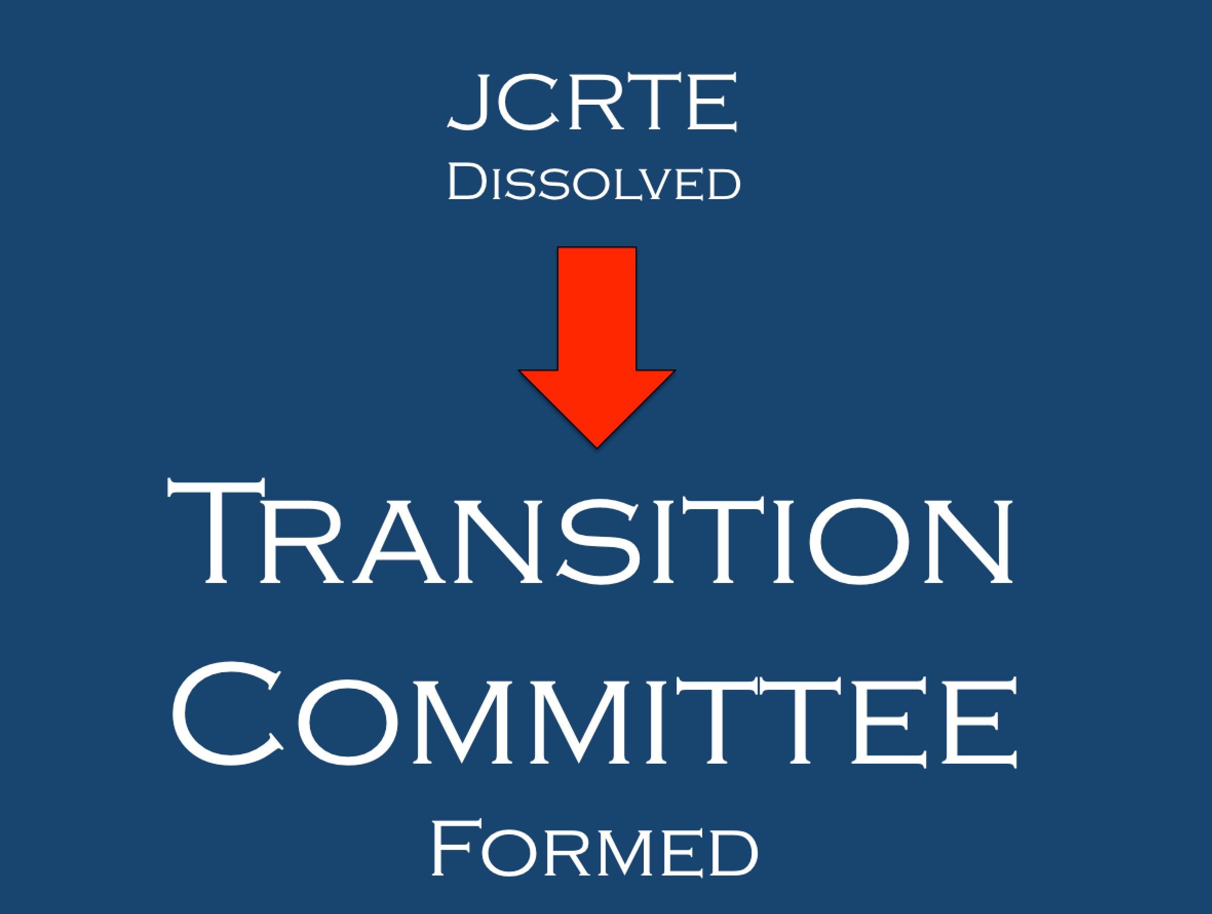 1997 JRCRTE Dissolved