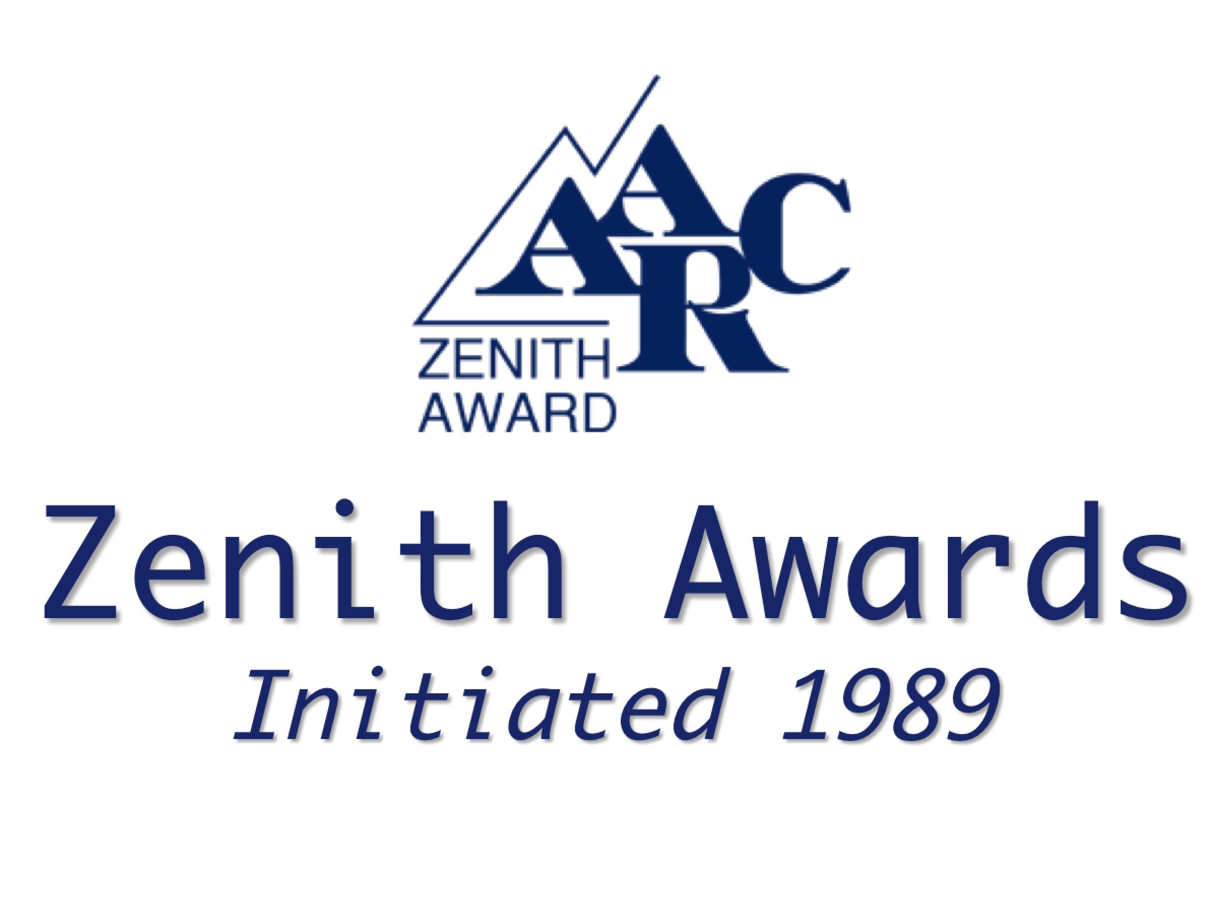 1989 Initial Zenith Awards Presented