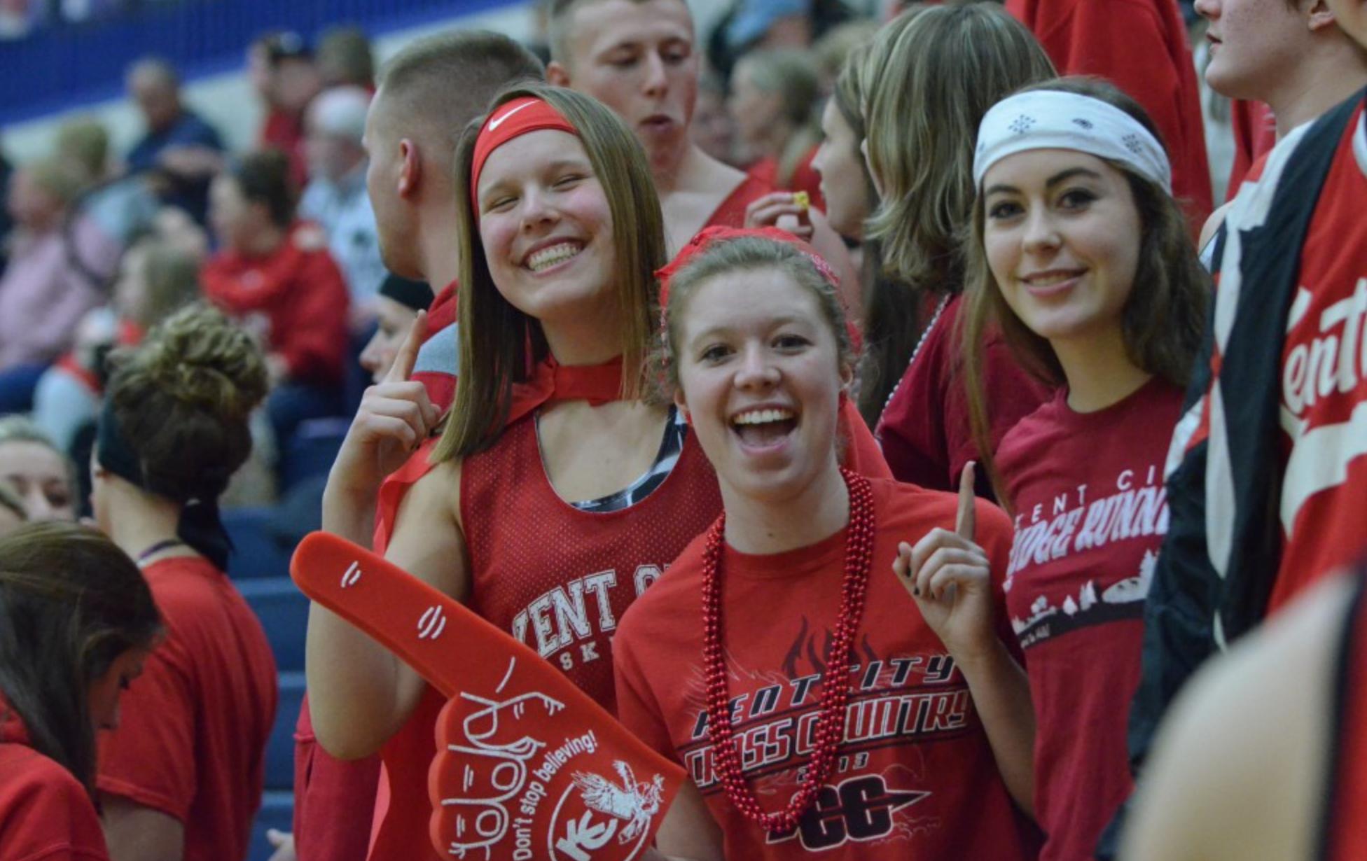 Kent City High School Basketball Fans