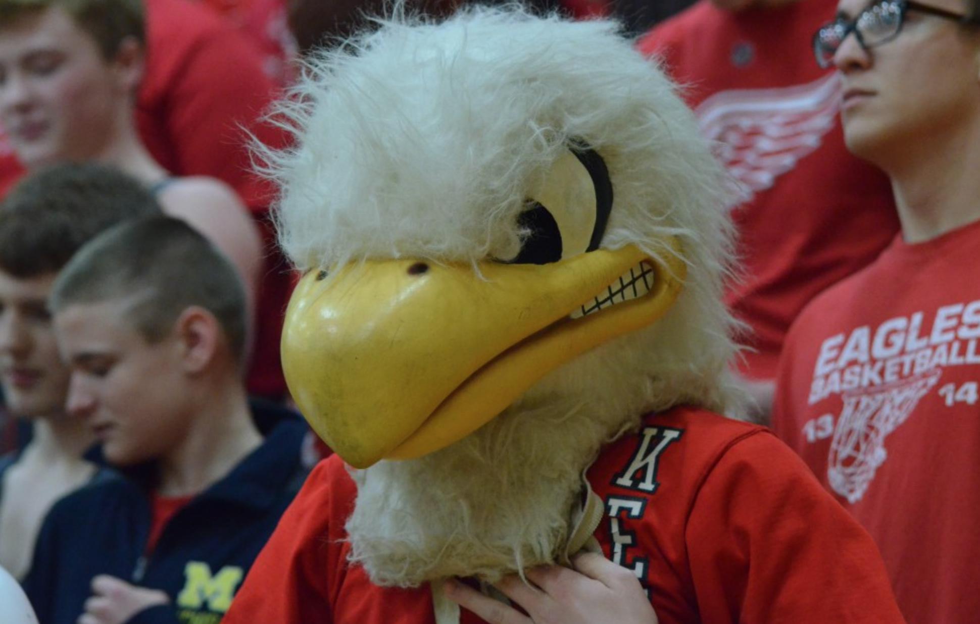 Kent City Eagles Mascot High School Jason Vogel