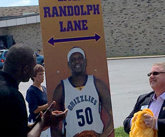 Zack Randolph Lane