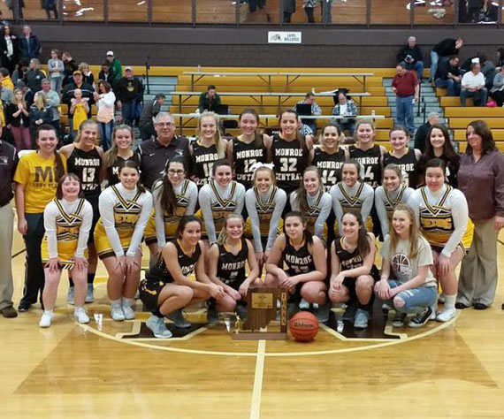 Six Straight for Monroe Central (IN)