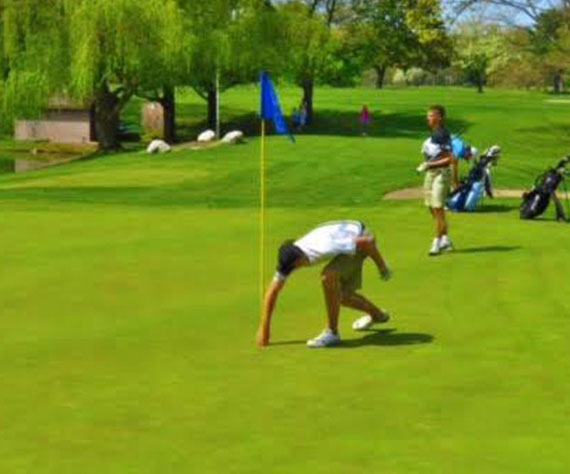 Culp hits hole-in-one