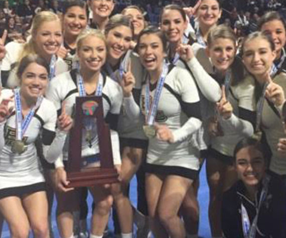 Bishop Moore Cheerleaders take home State Title